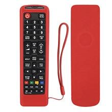 Funda protectora de Control remoto de TV para Samsung AA59-00786A AA59-00602A AA59-00666A AA59-00741A 00637 00817A de silicona suave cubierta