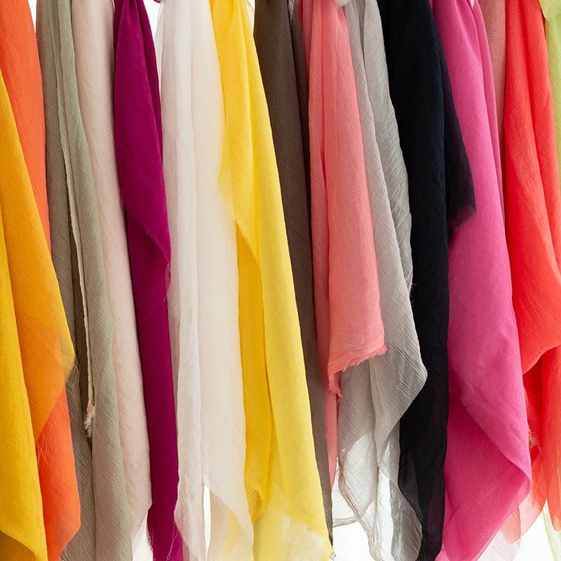 """3 m blanc en mousseline de soie argent scintillant doux robe en mousseline de soie Large 58/"""""""