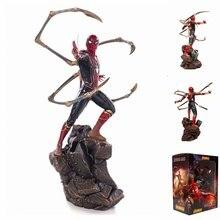 23cm nuevo estilo vengadores Infinity War 1/10 Iron Spider Man acción figura PVC estatua colección regalos de juguete