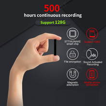 Dictaphone Voice-Recorder Activated Audio-Sound Professional STTWUNAKE Mini Magnetic