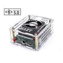 AIYIMA Bluetooth 5.0 TDA7850H מגבר 50Wx4 כיתת AB 4 ערוץ פלט מגבר לרכב לוח עבור אודיו קול רמקול DIY