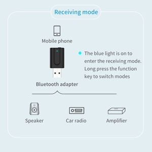 Image 5 - Vikefon bluetooth 5.0 receptor de áudio transmissor 2in1 rca 3.5mm aux jack alta fidelidade estéreo usb sem fio adaptador para tv pc carro kit mp3