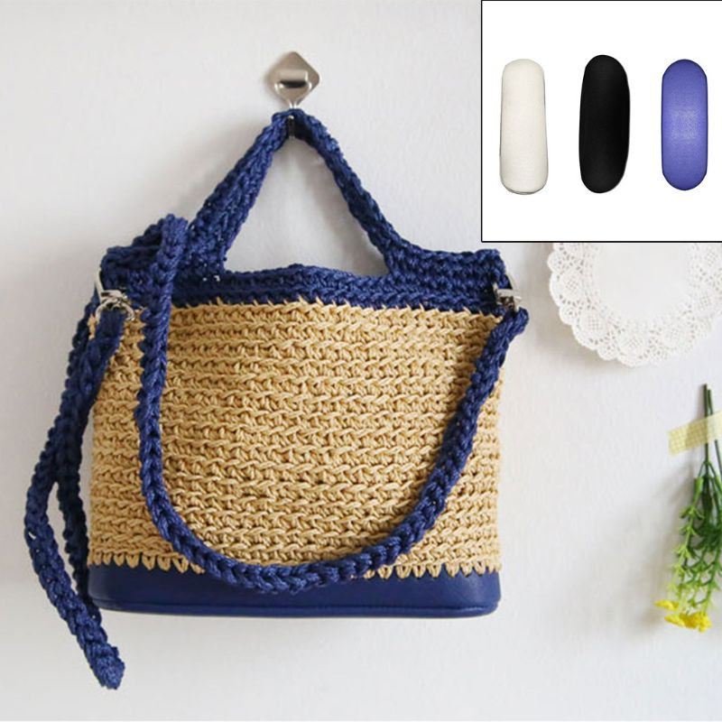 Leather Bag Bottom Base Shaper Cushion Pad For Crochet Bucket Bag Purse