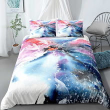 Double bed quilt set…