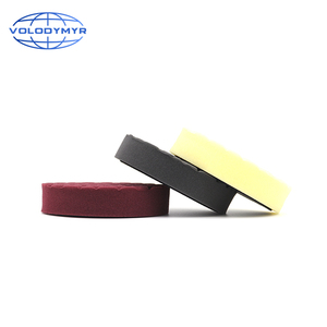 Image 3 - Hexagonal Pattern Type Buffing Pad with 5 Inch Hook and Loop USA Foam Sponge  Polishing Pads for Car Buffer Cars Polisher