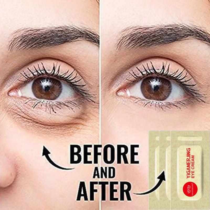 3 stücke Original YIGANERJING Anti aging Eye Creme Ageless Auge Creme Serum Sofort Schwellungen Entfernen Creme
