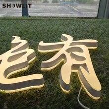 Новое поступление яркие белые мини-буквы и знаки на заказ