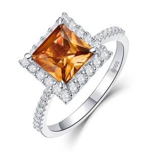 Image 4 - Kuololit Diaspore Sultaniteเปลี่ยนสีแหวนอัญมณีสำหรับสตรี 925 เงินสเตอร์ลิงแหวนหมั้นของขวัญเครื่องประดับFine