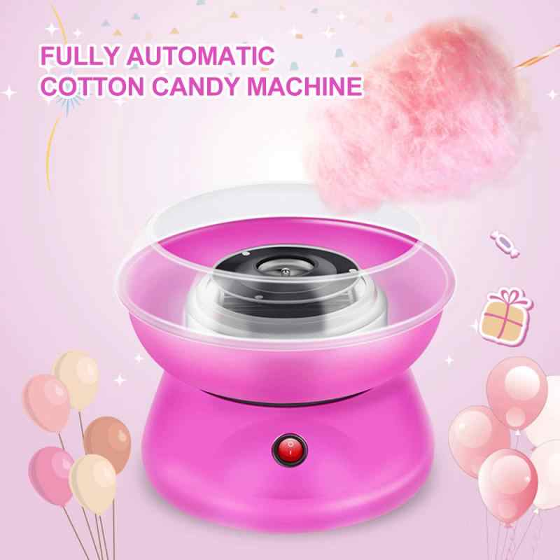 Kacsoo Electric Cotton Candy Maker Mini Portable Cotton Candy Floss Maker Floss Sugar with Cotton Candy Cones for Home Birthday Family Party Christmas Gift Cotton Candy Machine for Kids