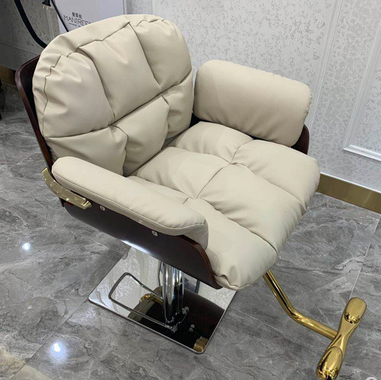 Net Red Barber Shop Lift Down High-end Cut Hair Dyeing Chair Hairdressing Chair Hair Salon Dedicated Simple Modern Stool