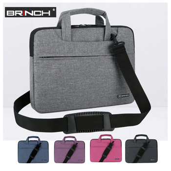 Laptop Bag 13 14 15.6 Inch Waterproof Notebook Bag For Macbook Air Pro 15.4 Laptop Shoulder Bag For Woman Handbag Briefcase