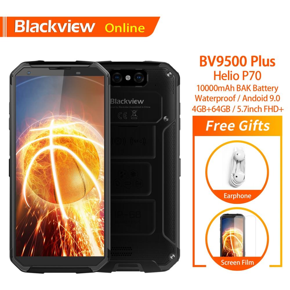 Blackview BV9500 Plus Original Wasserdichte Robuste Smartphone 10000mAh 4GB + 64GB Helio P70 Android 9.0 Fingerprint 4G handy-in Handys aus Handys & Telekommunikation bei AliExpress - 11.11_Doppel-11Tag der Singles 1