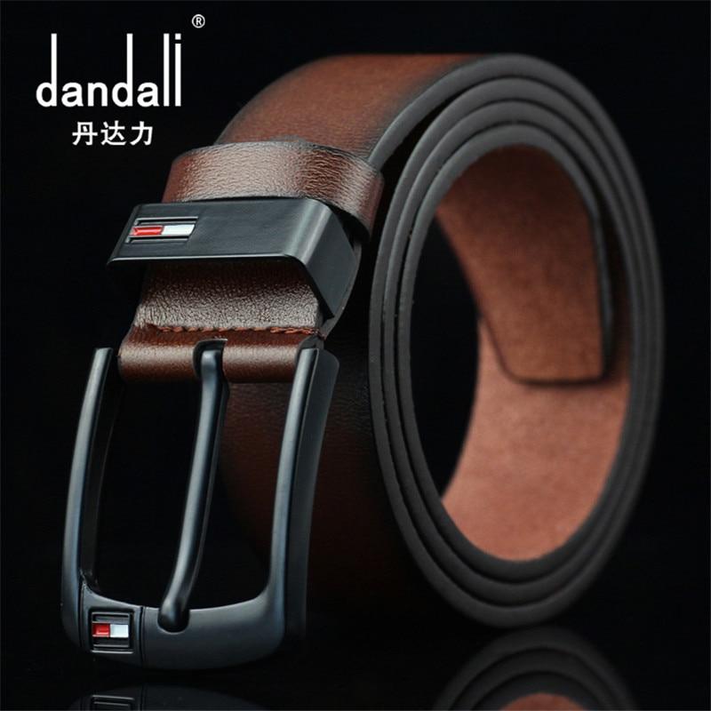 Dandali 2019 Belt Men Leather Belt Male  Pu Leather Strap Luxury Pin Buckle Belts For Men Belt Cummerbunds Ceinture Homme