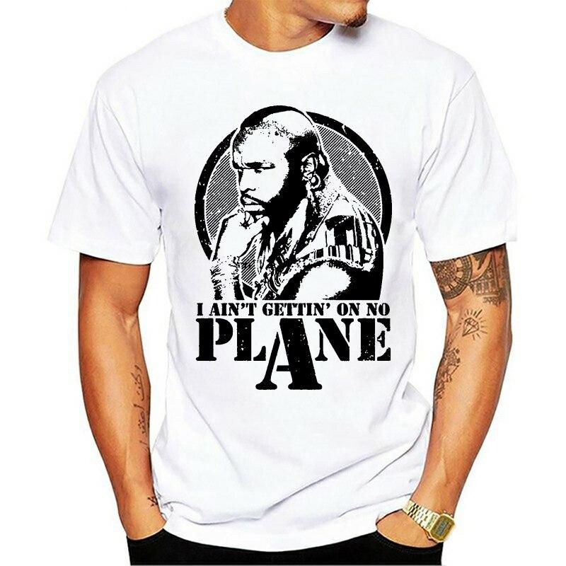 Uma equipe ba baracus não oficial está disponível em nenum avião adulto 2021 lazer moda camiseta 100% algodão