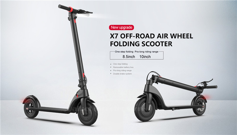 HX X7 Electric Scooter 36V 2 Wheel Electric Scooters With Removable Battery 8.5 Inch 250W Portable Folding Electric Kick Scooter (2)