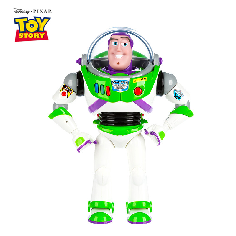 Disney Pixar Toy Story 4 Talking Buzz Lightyear Woody Jessie Bo Peep Action Figures Model Doll Limited Collection Toys Kids Gift