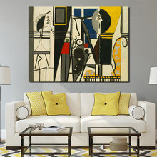 Настенный постер Пикассо декоративная картина на холсте для