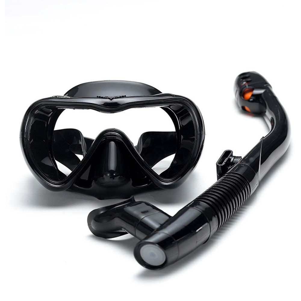 Маска для подводного плавания, плавательные очки, незапотевающие очки для подводного плавания, набор силиконовых очков для плавания, рыбал...
