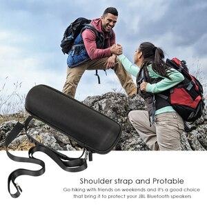 Image 4 - Hard Eva Shockproof Reizen Carry Kolom Case Cover Pouch Voor Jbl Flip 5 Flip5 Draadloze Bluetooth Speaker Met Riem Extra ruimte