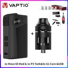 """Viva kita Move Grand TC 80W Vape Box Mod Move 60 E Cig Mod 0.91 """"Screen Vapour Box fit 18650 batteria Turbo Tank Throne Atomizer"""