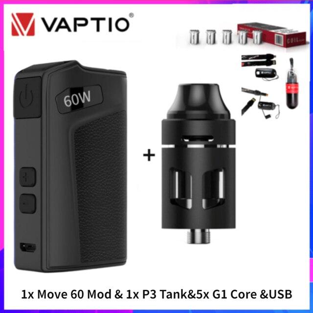 """Viva kita Move Grand TC 80W Vape boîte Mod Move 60 E Cig Mod 0.91 """"écran boîte de vapeur fit 18650 batterie Turbo réservoir trône atomiseur"""