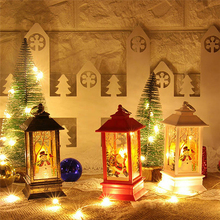 LED Christmas Candle with Tea Light Candles Tree Decoration Kerst Decorative Decorations for Home Decor