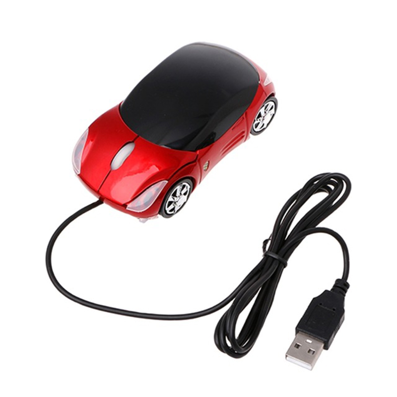 Creative Fashion Wired USB Car Mouse 3D Car Shape USB Optical Mouse Gaming Mouse Mice For