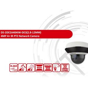 Image 3 - Hikvision оригинальная PTZ IP камера DS 2DE2A404IW DE3 4MP 4X Zoom сеть POE H.265 IK10 ROI WDR DNR купольная CCTV Камера