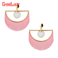 nordic designer tassel glass ball wall light fix Pink Ins Hot Girl Wall Sconces for living room bedroom hotel led fixtures