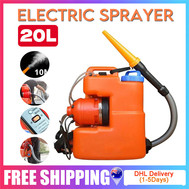 220V 20L ULV Sprayer Super Large Capacity Electric ULV Atomizing Spray 10-12M Remote Spraying Tool With English Manual