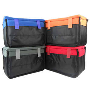 Image 3 - Waterproof Shockproof Camera Bag Padded Insert SLR Carry Case Pouch Holder Partition For SLR Canon Nikon Sony Camera Lens
