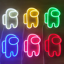 Sign Game-Lamp Neon-Light Party-Decor Christmas-Gift Astronaut Birthday LED for Holiday