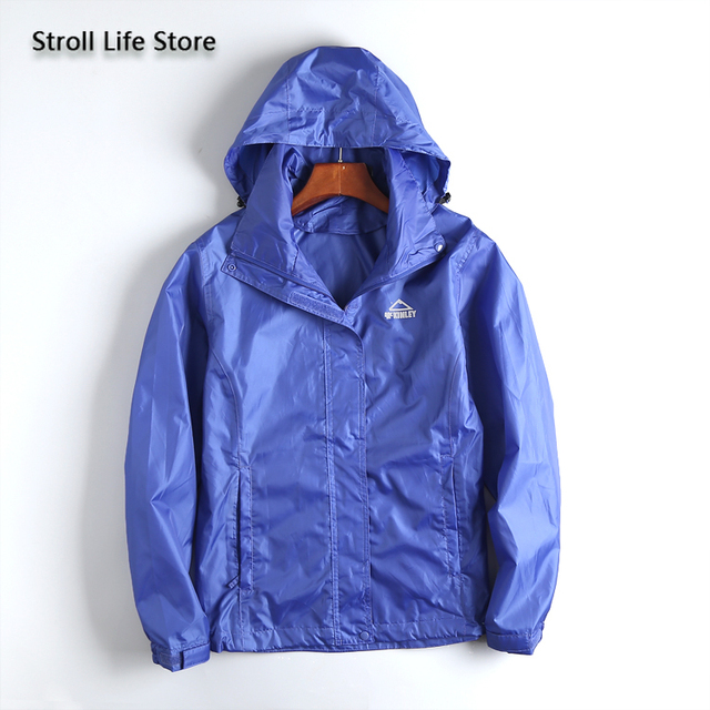 Waterproof Jacket Rain Coat Women Lightweight Breathable Hiking Travel Yellow Raincoat Rain Cover Partner Capa De Chuva Gift 5
