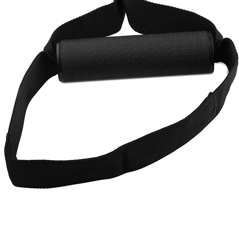 Stretchable Resistance Bands with Height Adjustable Elastic Straps and Handle for Workout and Exercise 17