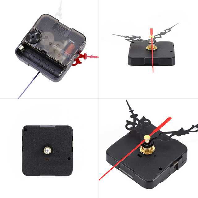1 Set Wall Clock Mechanism Silent Large Wall Clock Quartz Clock Movement Mechanism DIY Repair Parts Watch Wall Clock Movement 3