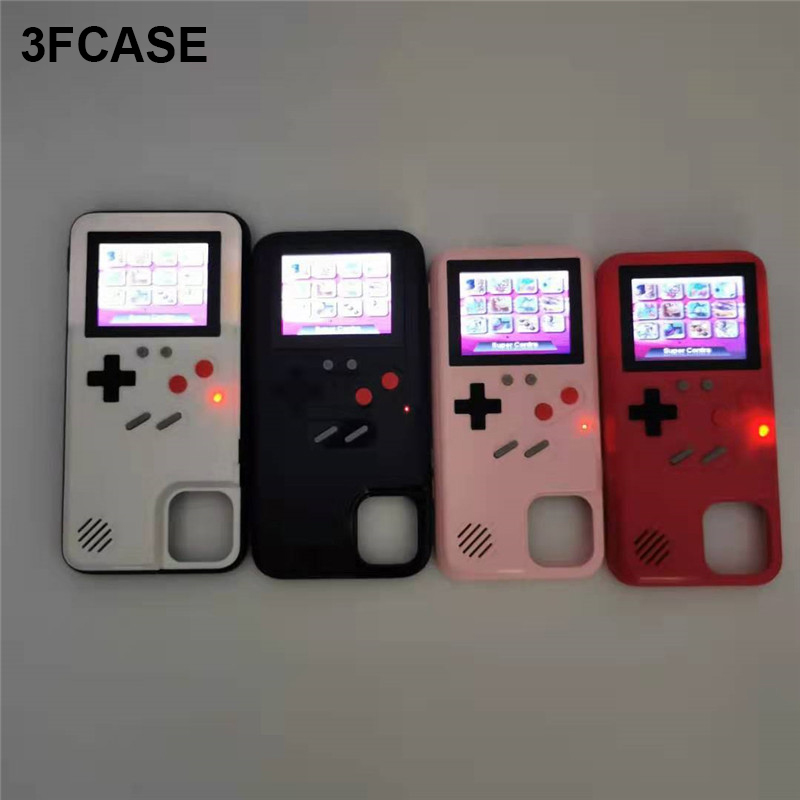 Gameboy Xr Case For iPhone 11 Case Color Screen Retro Game Cover Coque For iPhone 6