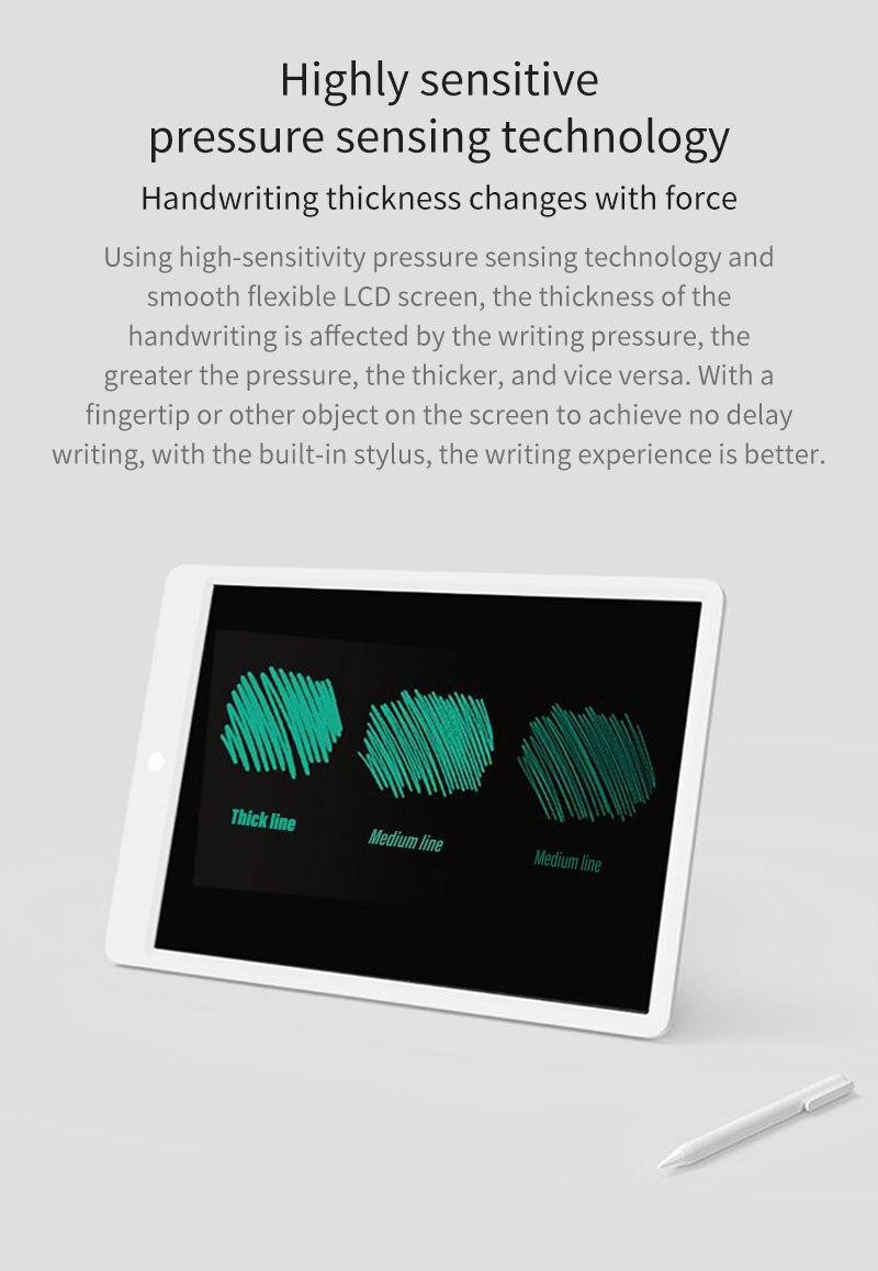Xiaomi Mijia 10/13, 5 дюймов, детский ЖК-дисплей, маленькая доска для письма, планшет с ручкой, цифровой рисунок, электронный планшет