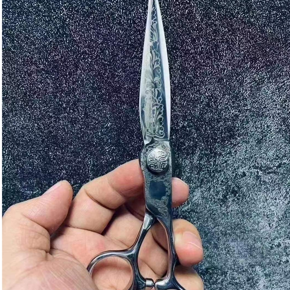6 Professional Hair Salon Structure Scissors Set Cutting Barber Haircut Thinning Shear Scissors Hairdressing Hair Tools Scissors