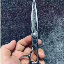 6 Professional Hair Salon Structure Scissors Set Cutting Barber Haircut Thinning Shear Scissors Hairdressing Hair Tools Scissors