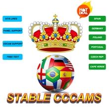 Stable CCcams Cline Spain Server Germany Sky Oscam Portugal Poland Decoder Europe DVBS2
