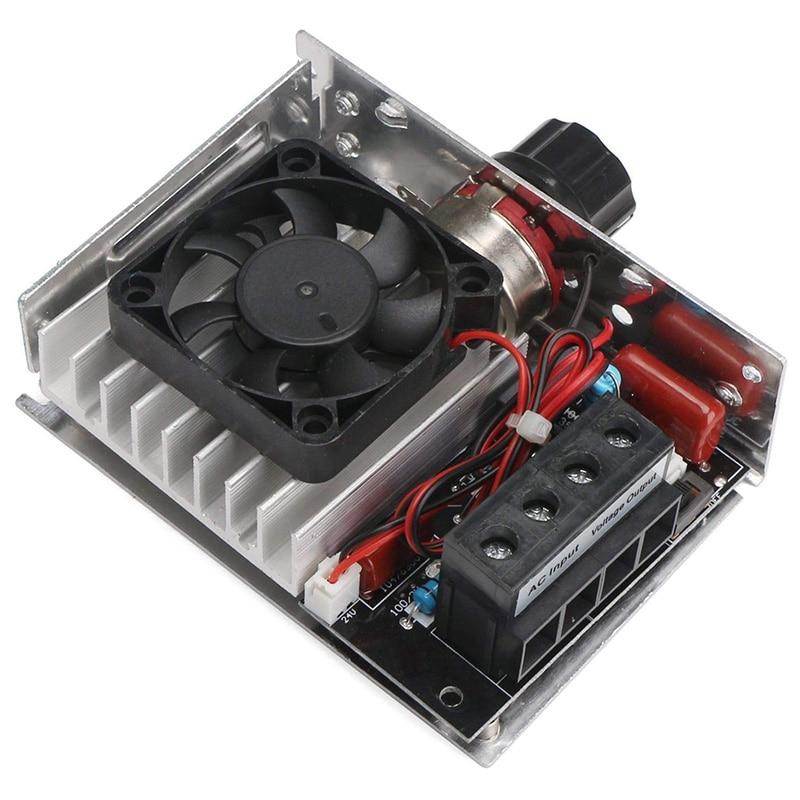 220V AC 10000W Triac Voltage Regulator Speed Dimmer Temperature Control