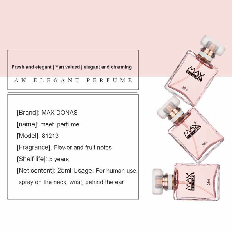 Spray de toilette feminino elegante romântico duradouro fragrância fresca tentação romântico perfume