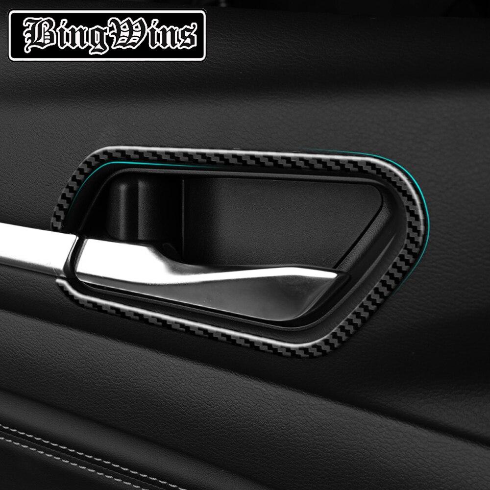 Автомобильный Стайлинг для 2019 2020 Nissan Teana внутренняя дверная чаша декоративная рамка внутренняя дверная чаша патч внутренние принадлежност