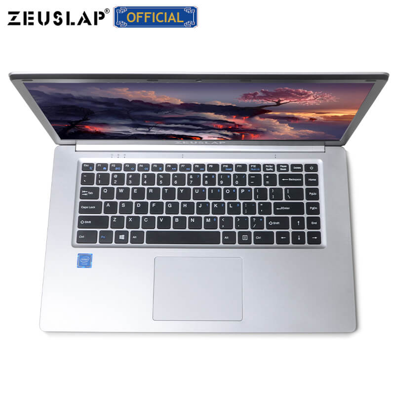 15.6inch Intel Quad Core CPU 4GB Ram 64GB EMMC Windows 10 System 1920*1080P Screen Netbook Laptop Notebook Computer
