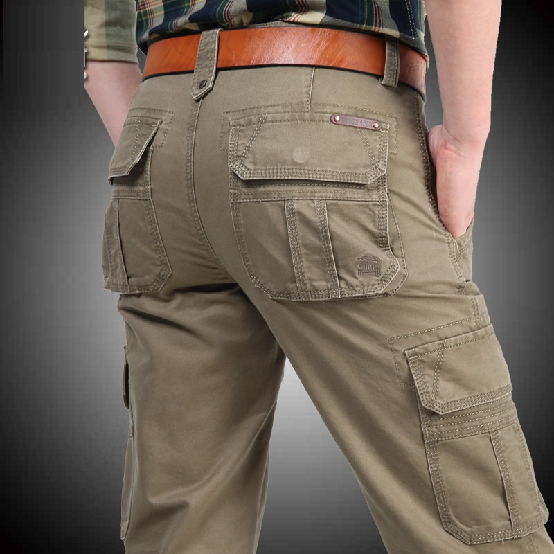 NIANJEEP-Cargo-Pants-Mens-Cotton-Military-Multi-pockets-Baggy-Men-Pants-Casual-Trousers-Overalls-Army-Pants (2)