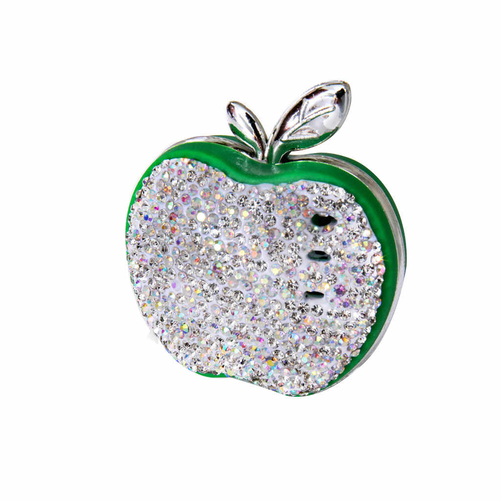 Auto parfüm clip Auto Air Outlet Strass Apple Auto Feste Duft Auto Parfüm automotive lufterfrischer auto parfüm clip ornament