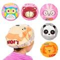 Мультяшные животные, детская шапочка для душа, детская шапочка для волос, многоразовая шапочка для волос из ПВХ, товары для сауны, ванной ком...