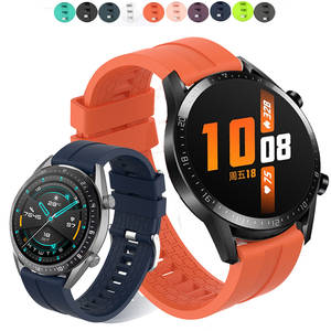 Watch-Strap Honor Bracelet 22mm 42mm Magic Silicone 46mm for Huawei GT 2-Gt2 2-Gt2