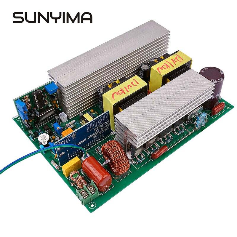 Sunyima 1000 w dc12v para ac220v onda senoidal pura inversor conversor de energia solar baixa frequência núcleo transformador potência do inversor