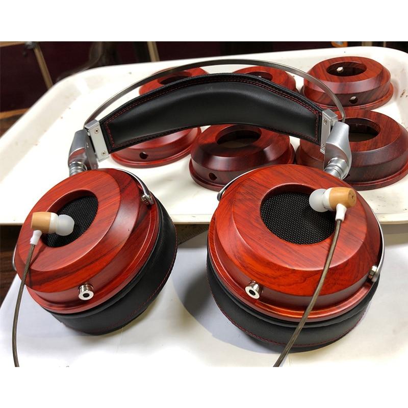 40MM 50MM dos ouvert casque logement HiFi bricolage casque boîtier coque haut de gamme personnalisé casque logement